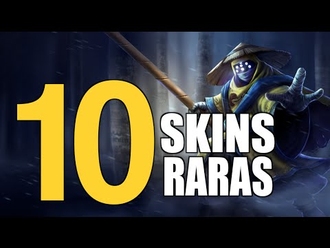 TOP 10 SKINS RARAS DEL LOL | TODA LA VERDAD ( League of Legends )