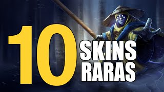 TOP 10 SKINS RARAS DEL LOL | TODA LA VERDAD ( League of Legends )