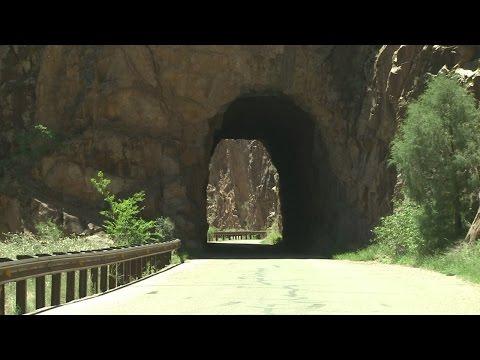 Graffiti plagues gorgeous New Mexico tunnels
