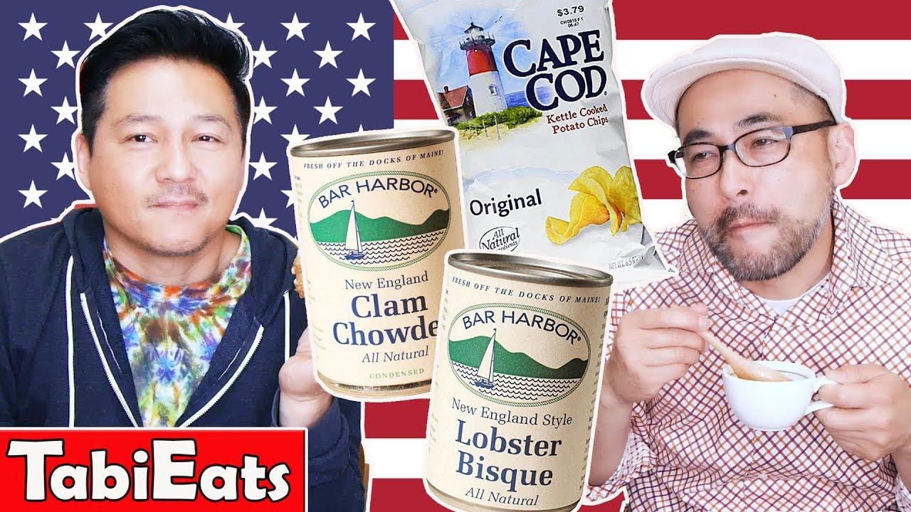 Japanese Try American Food from Boston, Massachusetts
