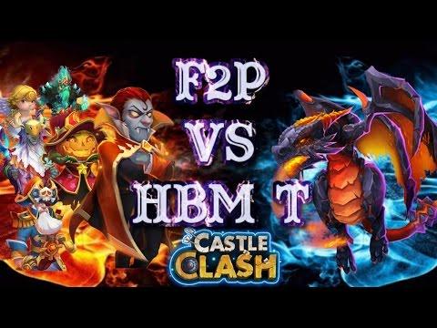 Castle Clash HBM T F2P