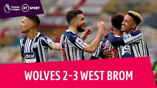 Wolves vs West Brom (2-3) | Big Sam's Baggies win Black Country thriller | Premier League Highlights