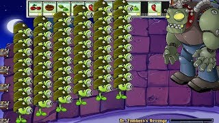 999 Gatling Pea vs Dr. Zomboss Plants vs Zombies Hack