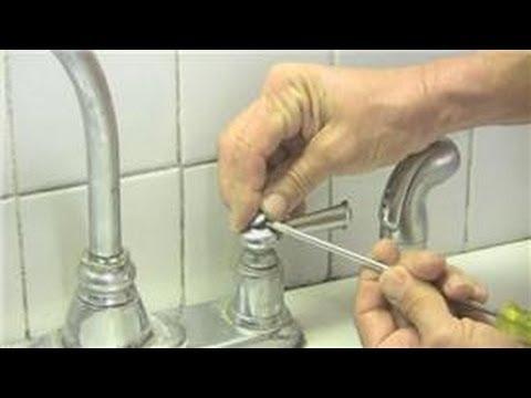 Kitchen Fauct Sink Fixtures Plumbing : Double Handle Faucet Repair ...