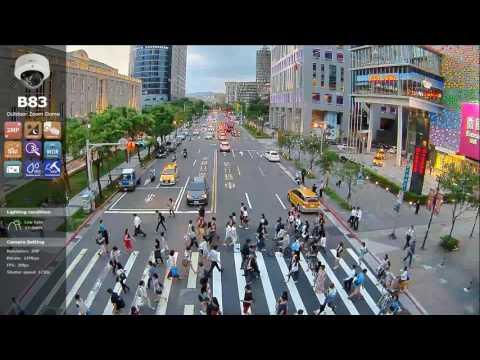 B83 Traffic installation in Taiwan