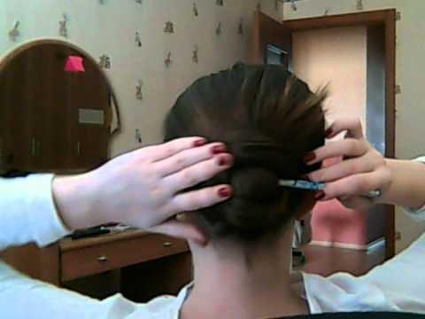 Как уложить волосы с помощью карандаша