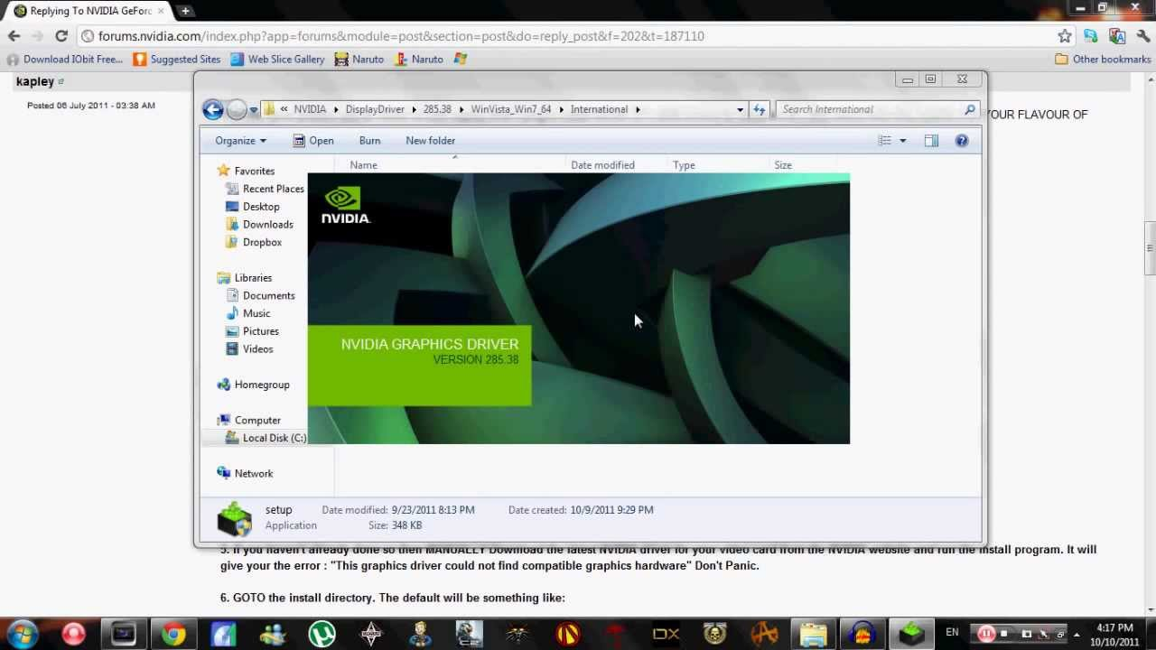 How to Fix NVIDIA Driver Update Installer Error