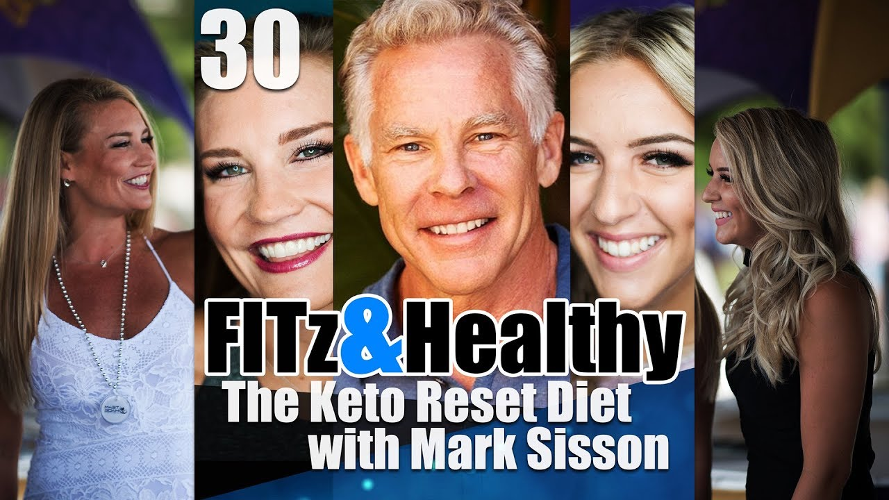 Mark Sisson Diet Fitz & Healthy Podcast 30  The Keto Reset Diet With Mark Sisson