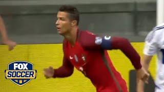 Cristiano Ronaldo passes Pele on all-time international scoring list | FOX SOCCER thumbnail