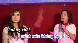 karaoke : LK ai kho vi ai song ca cung ( o0o-color of life-o0o )