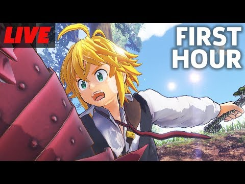 First Hour of The Seven Deadly Sins Knights of Britannia Live