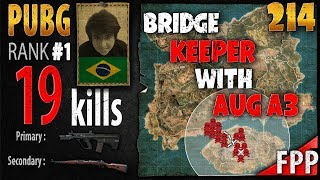[Eng Sub] PUBG Rank 1 - Tecnosh 19 kills [SA] SOLO FPP - PLAYERUNKNOWN'S BATTLEGROUNDS #214