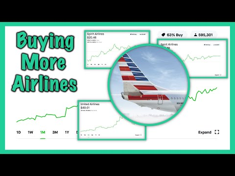 I'm Buying Airline Stocks AGAIN - Robinhood Investing