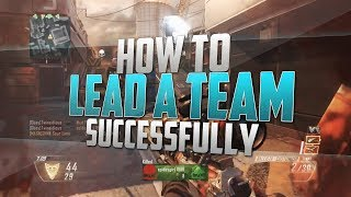 How to Lead a Team!