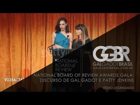National Board of Review: Discurso de Gal Gadot e Patty Jenkins (Legendado)