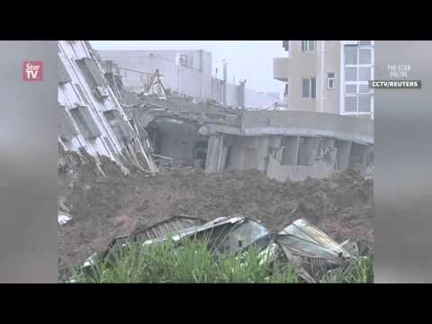 MASSIVE LANDSLIDE IN SHENZHEN, CHINA