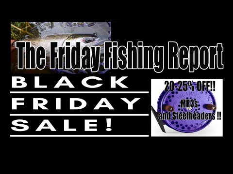 Pacific Angler Fishing Report - Nov 29th BLACK FRIDAY SALE EDITION