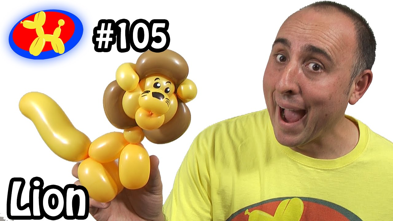 Lion - Balloon Animal Lessons #105