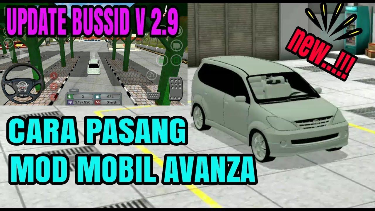 Mod Bussid Mobil Avanza Drag Race