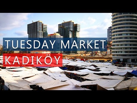 cf6d279c44fca6 Shopping at the TUESDAY MARKET in KADIKOY   SALI PAZARI   Istanbul Guide –  Shopping time