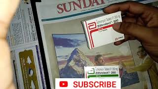 Azithromycin tablet 500mg // 250mg // review // in hindi // antibiotic