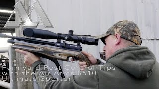 Farmyard Pest Control Tips with the Air Arms S510 Ultimate Sporter