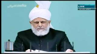 (Urdu) Friday Sermon 01/10/2010 Part 2/4