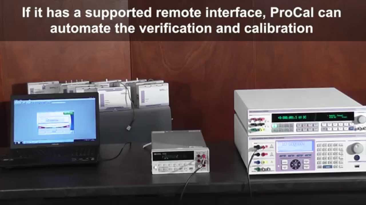 ProCal | Calibration Software