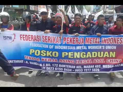 Demo Fspmi Saat Mey Day 2017 Youtube