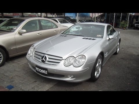 2004 Mercedes-Benz SL 350 Start-Up and Full Vehicle Tour