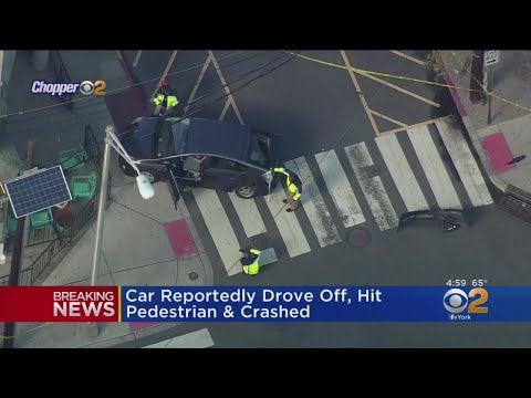 Driver In Hoboken Strikes Pedestrian Following Crash, Authorities Say