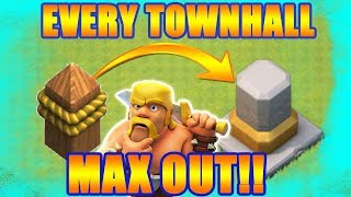 SECRET WAY TO MAX OUT YOUR WALLS FAST IN CLASH OF CLANS!!