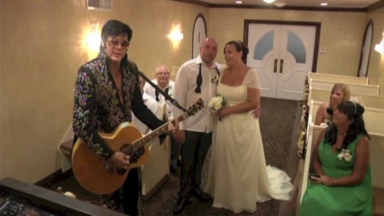 Graceland Wedding Chapel Las Vegas YouTube