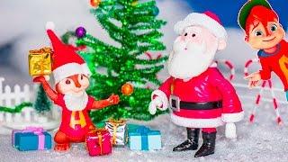 ALVIN AND THE CHIPMUNKS Nickelodeon Alvin Chipmunks Christmas Present Prank Surprise Toy Video