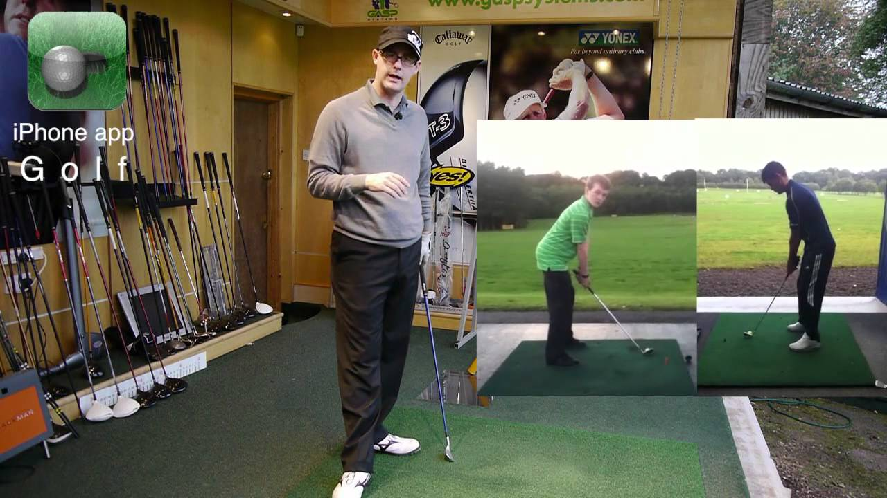 how to stop swaying in golf downswing