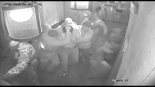 Видео задержания Саакашвили. Камеры наблюдения ресторана