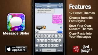 Message Styler App Demo 1.0 - Colorize Your Messages (Text, WhatsApp, Messenger, Facebook Messenger)