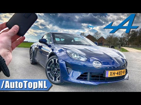 ALPINE A110 REVIEW POV Test Drive On AUTOBAHN & ROAD By AutoTopNL