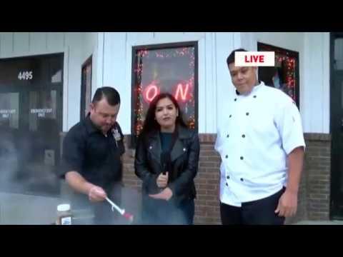 DAYTIME AT NINE: CBS 4 News Rio Grande Valley LIVE on the air w/ Danielle Banda TV at Dirty Al's