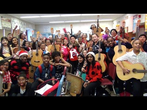 "Toby Lightman and Little Kids Rock perform ""Snow Day"" - YouTube"