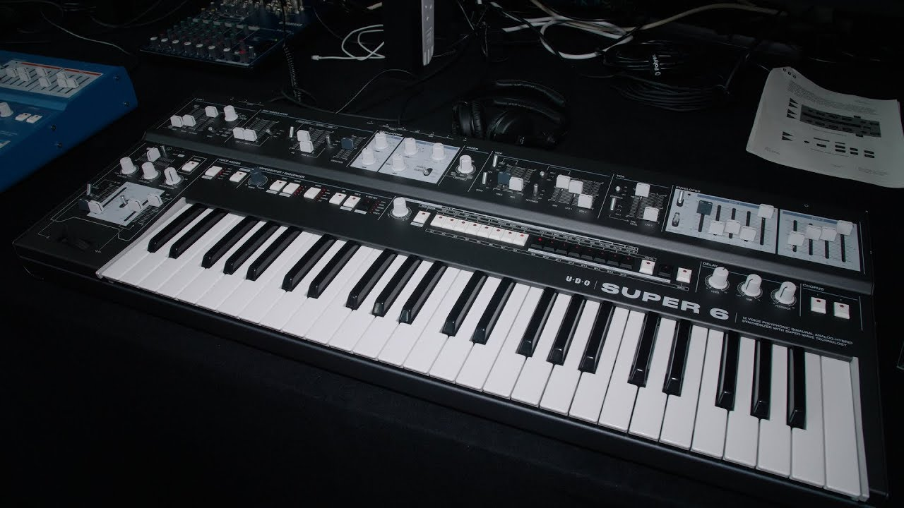 UDO Super 6: British FPGA synth wows Superbooth