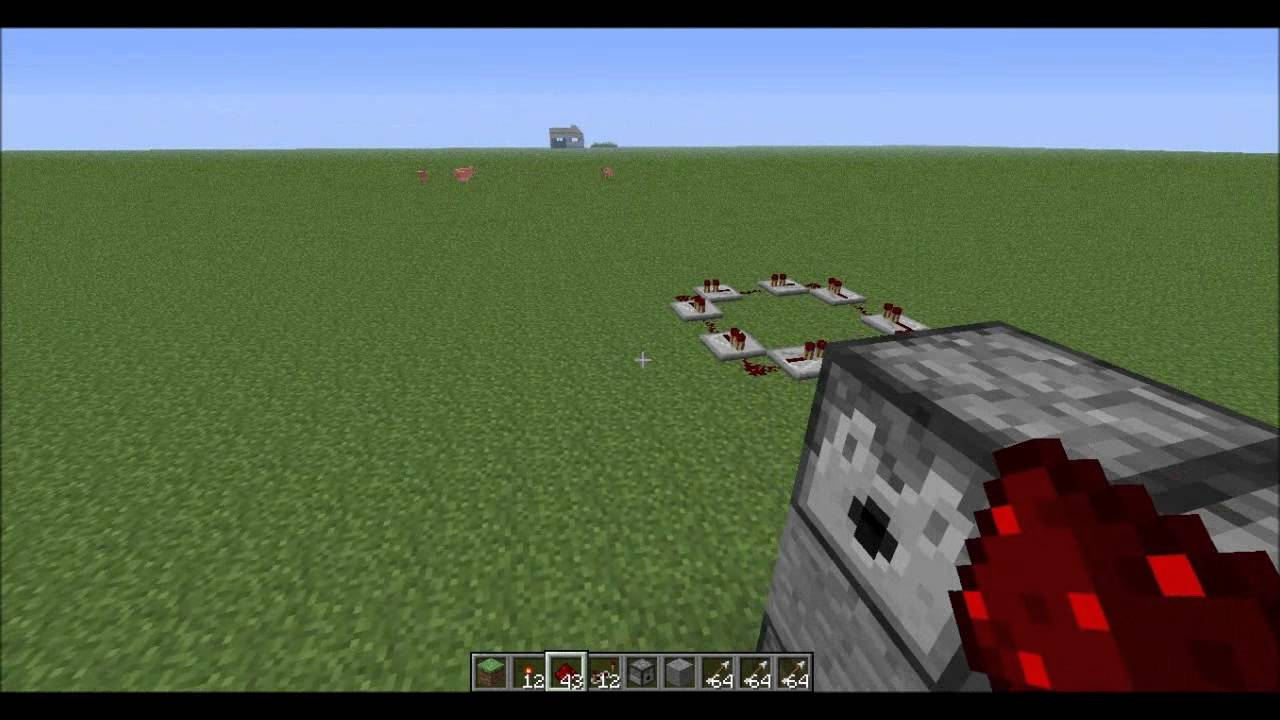Redstone creations and tutorials how to make a rapid fire redstone creations and tutorials how to make a rapid fire dispenser tutorial baditri Images