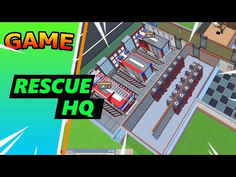 Rescue Hq - The Tycoon // walkthrough #1 // no commentary gameplay |