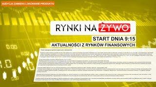 Start dnia od godziny 9:15 @Rynki Na Żywo 13.06.18, #368
