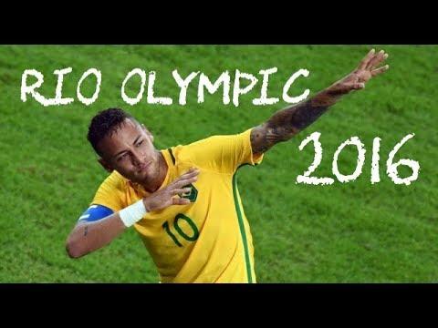 【ネイマール】 リオオリンピック2016 プレー集 Neymar Jr Rio Olympics 2016 Highlights Skills & Goals