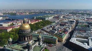 Смотреть видео В Санкт-Петербурге открылась XXIII сессия генеральной ассамблеи Всемирной туристской организации. онлайн