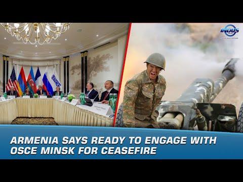 Armenia Says Ready To Engage With OSCE Minsk For Ceasefire | News Bulletin | Indus News
