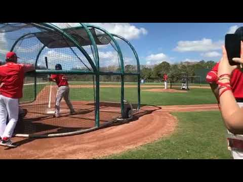 Rick Porcello threw his first live batting practice of the spring as Derek Lowe watched (video)