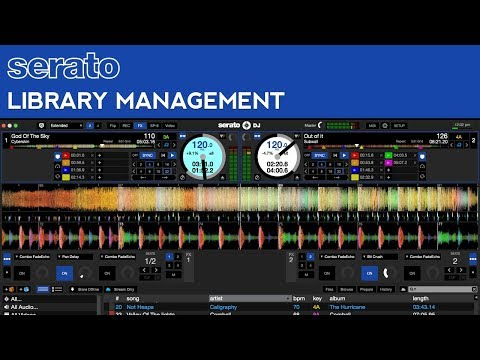 Serato Scratch Live Tutorial: Library Management