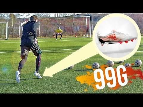 99g adidas Football Boots Test &Review by freekickerz